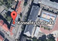 Anfahrt Könneritzstrasse 44 - 04229 Leipzig - Rechtsanwälte Müller